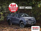 ISUZU D-MAX HUNTSMAN TRACKS DOWN YET ANOTHER AWARD IN 2018
